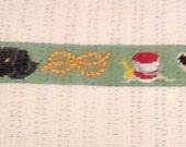 Custom Designed Needlepoint Belt Canvas