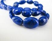 Lapis Lazuli Gemstone, Nugget Briolettes, AAA, aaagems, 9-10mm, Quarter Strand, 10 Lapis Beads