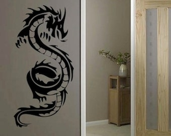 Kids Room Dragon Wall Decal Cartoon Dragon Wall Art - Custom vinyl wall decals dragon