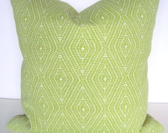 PILLOW Cover Lime green Indoor Outdoor Decorative Throw Pillows Outdoor Throw pillow covers 20x20 Citron Tropical .Sale.  Home and Living