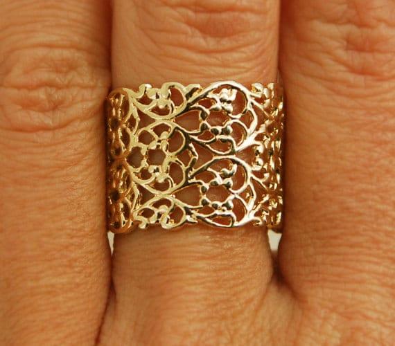 Gold Ring Base