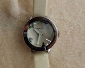 SALE-Original Andy Warhol Nothing Special Watch with Flowers Design-item #02147