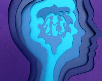 Eternal Sunshine  - 3D papercut