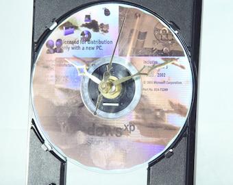 CD ROM Drive Desk Clock, Geekery, Clocks by DanO