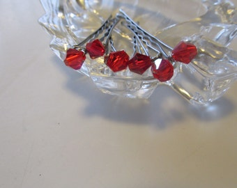 Swarovski Bobby Pins, Beaded Bobby Pins,