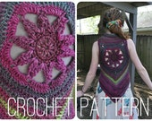 Crochet Pattern- Blossom Mandala Vest