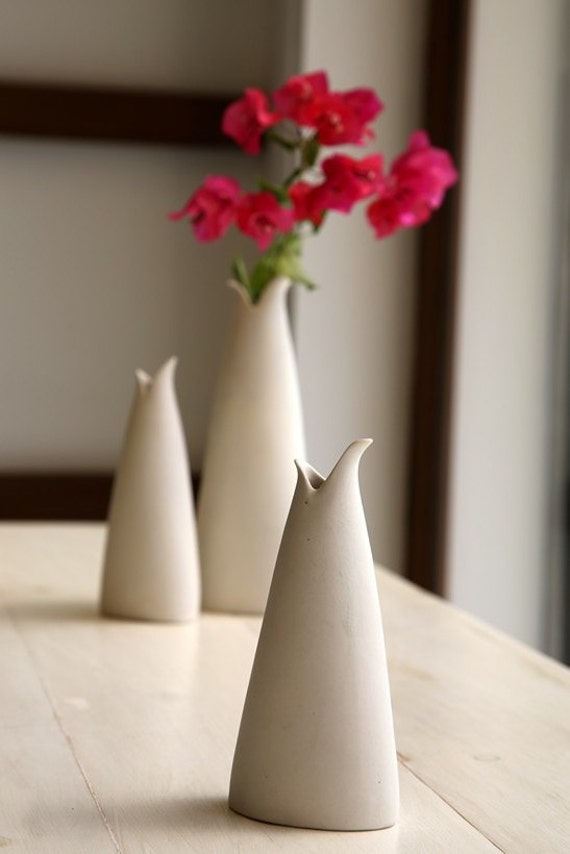 Items Similar To Small Ceramic Vase Decorative And
