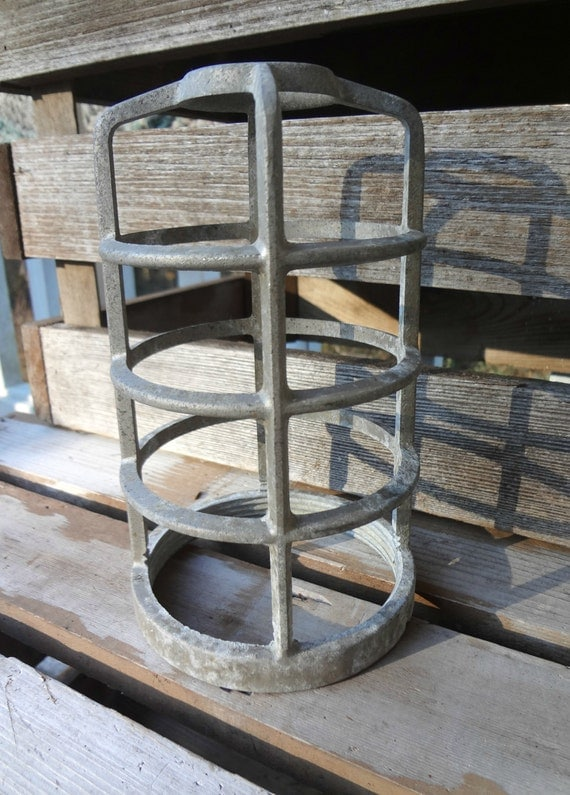 light safety cover metal light bulb cage screw on industrial. Black Bedroom Furniture Sets. Home Design Ideas
