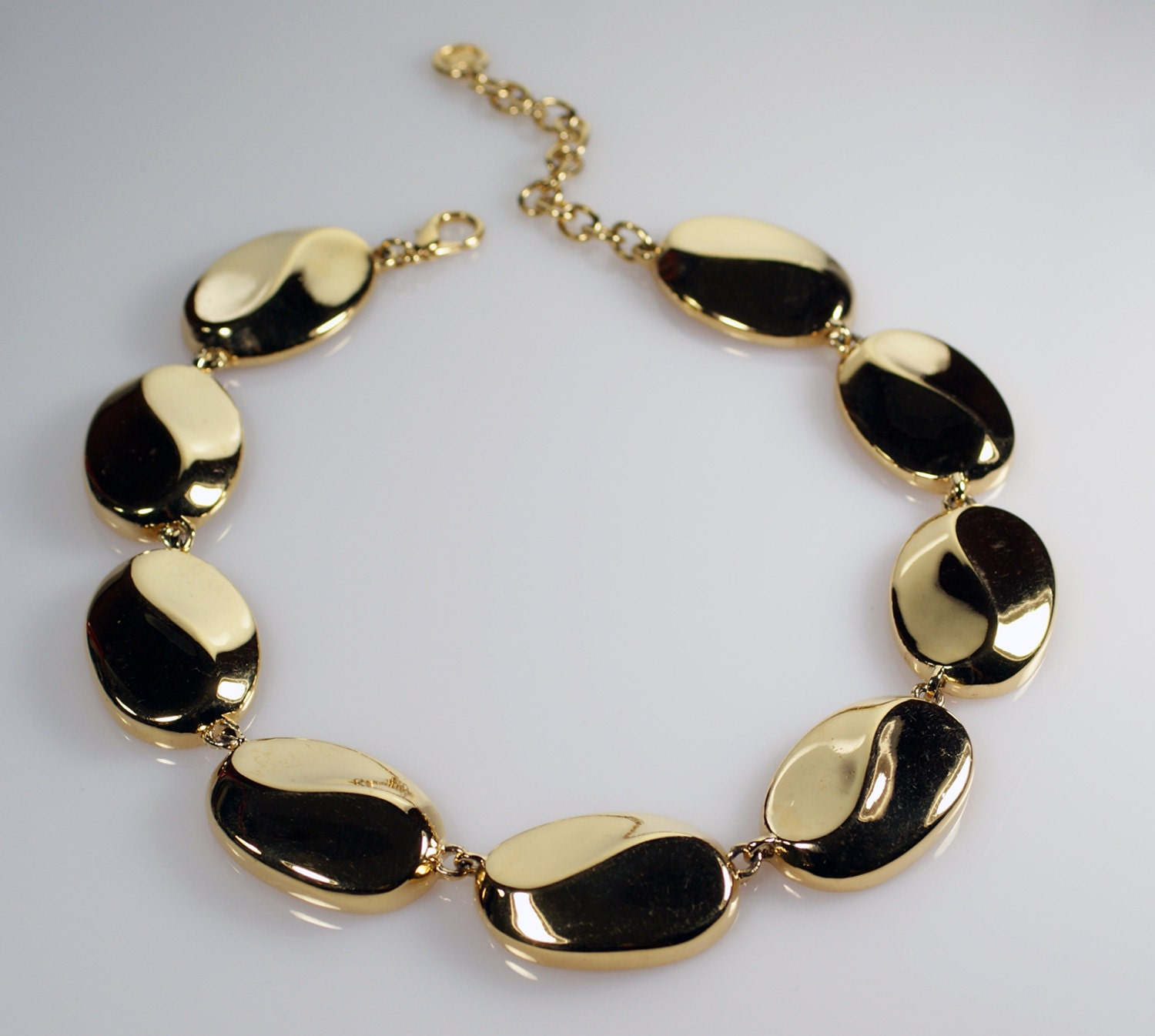 Givenchy Necklace Givenchy Jewelry Vintage Gold Tone Choker