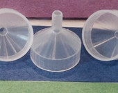 5 mini funnels - for Nail Polish bottles or other applications