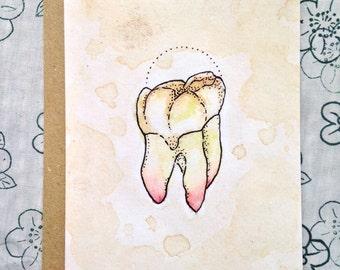Wisdom Tooth Greetings Card