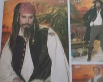 UNCUT / FF Simplicity Andrea Schewe Costume Pattern 4923 for a Men's Pirate Costume Size XSmall, Small, and Medium
