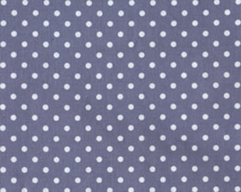 Michael MIller, Fabric by the Yard Garden Pindot, CX4540 Dinky Dot Gray, 1 yd