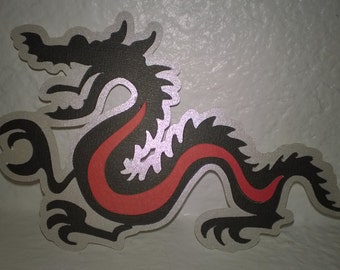 DRAGON Paper Die Cut