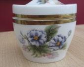 Vintage Royal Worcester 'Florena' Fine Bone China Pin Dish 1974