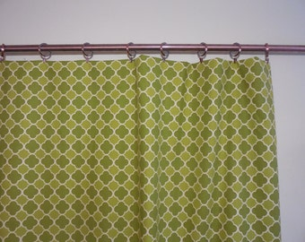 Lime green curtains | Etsy