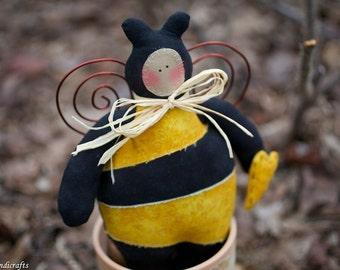 Bumblebees Bee Tilda Garden Spring Housewarming Needlecraft