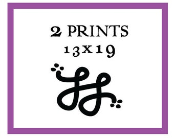 Any Two 13x19 Prints