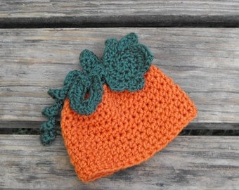 Pumpkin hat made to size wonderful warm Halloween outfit or photography props