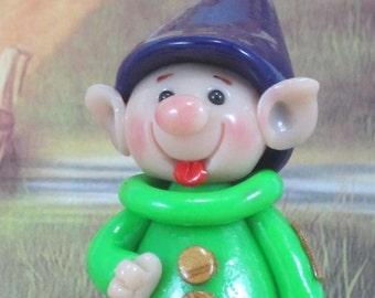 Dopey the Dwarf for Fairy Garden OOAK, handmade miniature, ornament