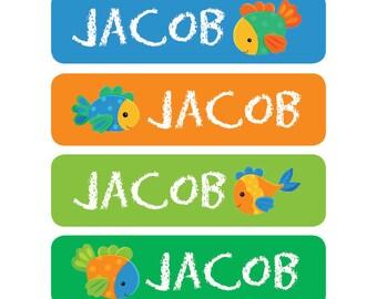 80 custom name label, childrens label, custom camp school daycare name sticker, book labels, teacher labels, daycare label, daycare sticker