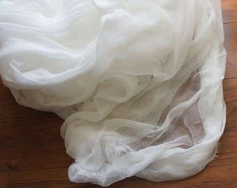 Sale Cotton Gauze Cheesecloth White 36 inch wide1 yard plus