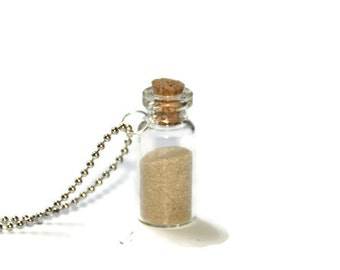Message in the Bottle - Sand