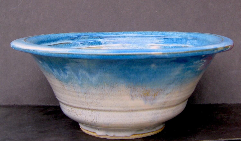 Sale stoneware vessel sink teal rim counter vanity top - Bathroom vanity with vessel sink sale ...