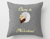 Disney's Peter Pan Come to Neverland Pillow Cover