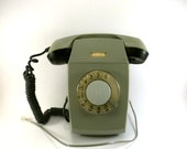 Vintage Rotary Wall Phone, USSR 1979 Working condition
