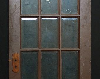 36x84 Antique Exterior Entry Birch Wood Door 9