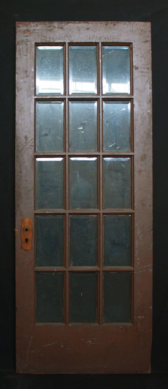 30x 80 Antique Interior Entry French Douglas Fir