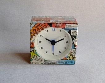 Suspicious Comic Alarm Clock
