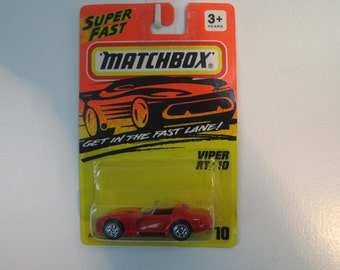 Matchbox Dodge Viper RT/10 & Plymouth Prowler Set  1993/1994  2 Cars Included
