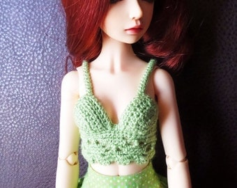 Crochet Top for MSD ball jointed dolls