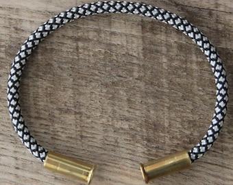 BRZN Bullet Casing Chess Camo Paracord Bracelet