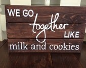Items Similar To Custom Wood Wedding Tabletop Quote Sign