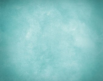 Solid color Photography backdrop - aqua