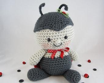 Crochet Stuffed Ladybug Plush, Crochet Stuffed Toy, Stuffed Animal Ladybug, Toy Ladybug, Amigurumi Ladybug by CROriginals