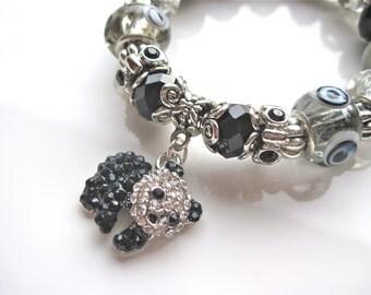 """Panda Bear Bracelet. """" Minmin"""""""