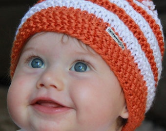 University of Texas Baby Beanie for newborn to 3 months