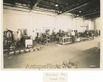 Toll equipment room Bethlehem Steel Pennsylvania antique photo