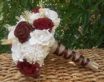 Made to order - Wedding bouquet, Sola bouquet, keepsake bouquet, bridal bouquet