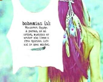 Bohemian Crop Top