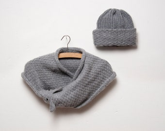 set/ foxy scarf with hat