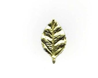 Gold Foil Leaves in Bundles of +/-144pcs
