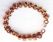 Nice copper coloured brac...