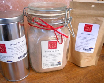 Mexican Hot Cocoa, Gift for Mom, Gift for Dad, Gourmet Hot Cocoa, Hostess Gift, Hot Cocoa Mix