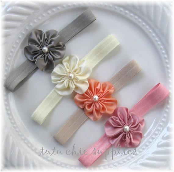 Tutu fournitures chic 12 unites DIY bandeau kit bébé fleurs feutre ...