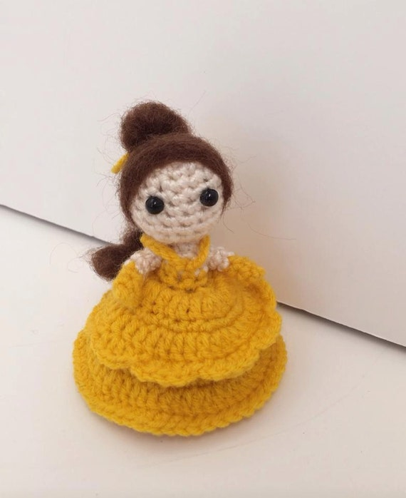 """Beauty and the Beast - 3.5"""" inches tall"""